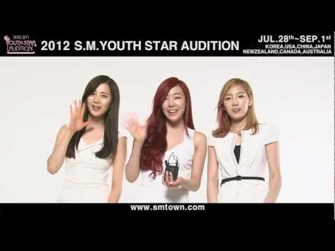 2012 S.M. YOUTH STAR AUDITION_Artists Interview
