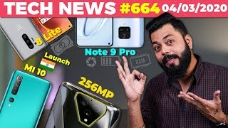 Redmi Note 9 Pro Full Specs, Mi 10 India Launch, 256MP