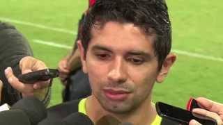 Libertadores 2015 - Treino Atlético-MG - Guilherme fala sobre a partida.