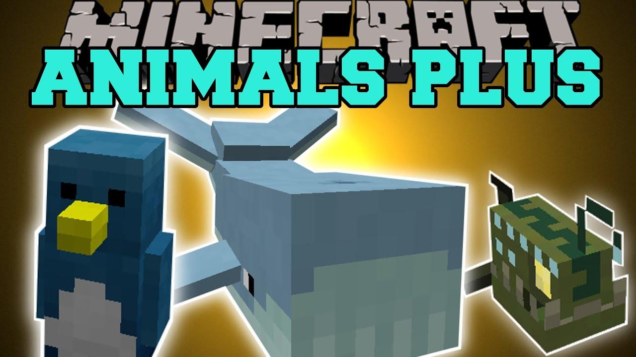 Minecraft Animals Plus Killer Sharks Poisonous Snakes