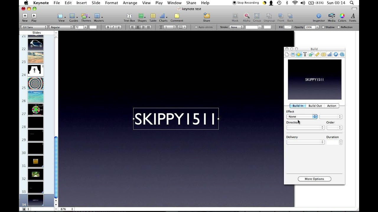 Drawing Lines In Keynote : Easy keynote text tutorial youtube