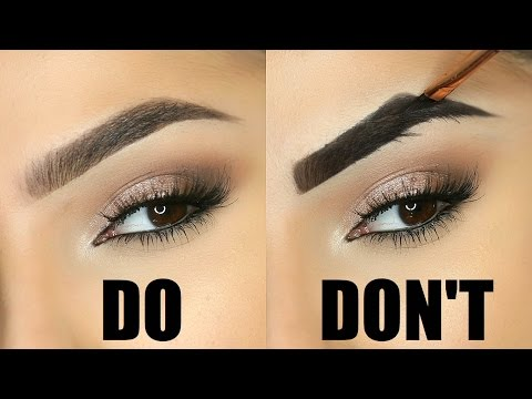 EYEBROW MISTAKES TO AVOID!