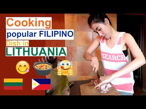 Filipino Food In Lithuania??? +