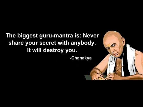 Chanakya Quotes English Youtube