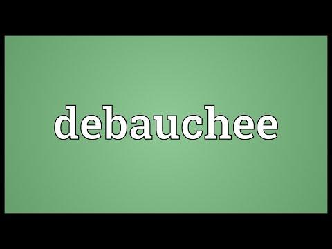 Header of debauchee