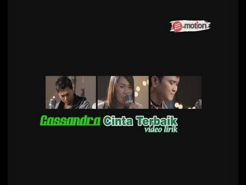 CASSANDRA - CINTA TERBAIK  with Lyric/lirik (Karaoke)