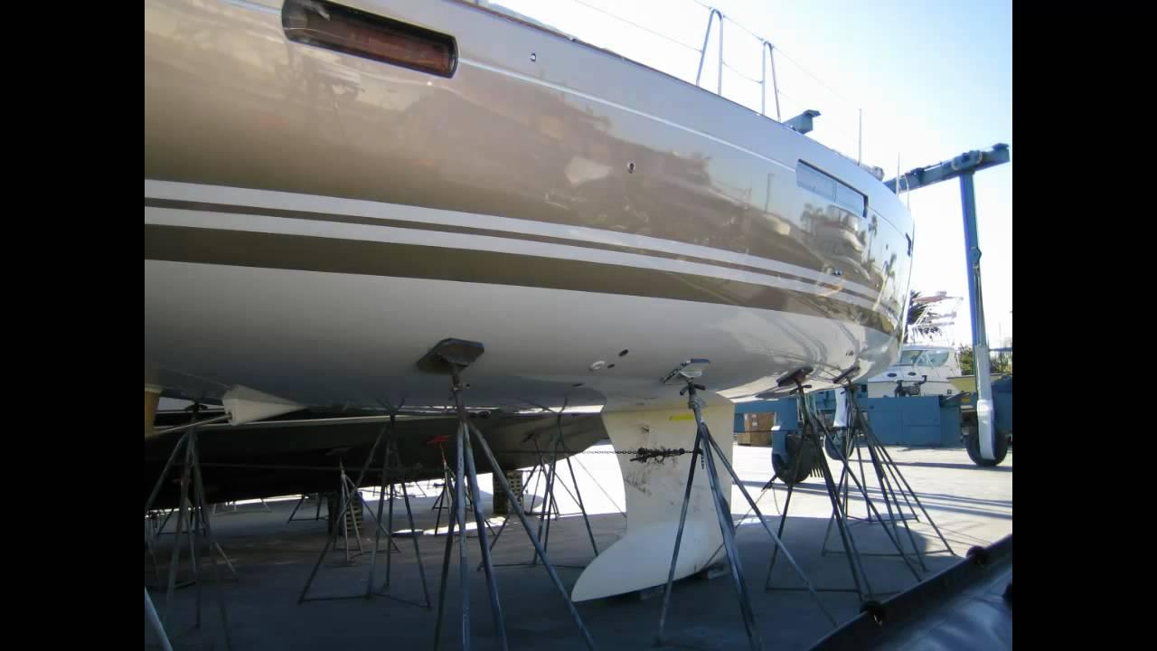 New 2011 Jeanneau 53 Sailboat Custom Paint Job By Ian Van