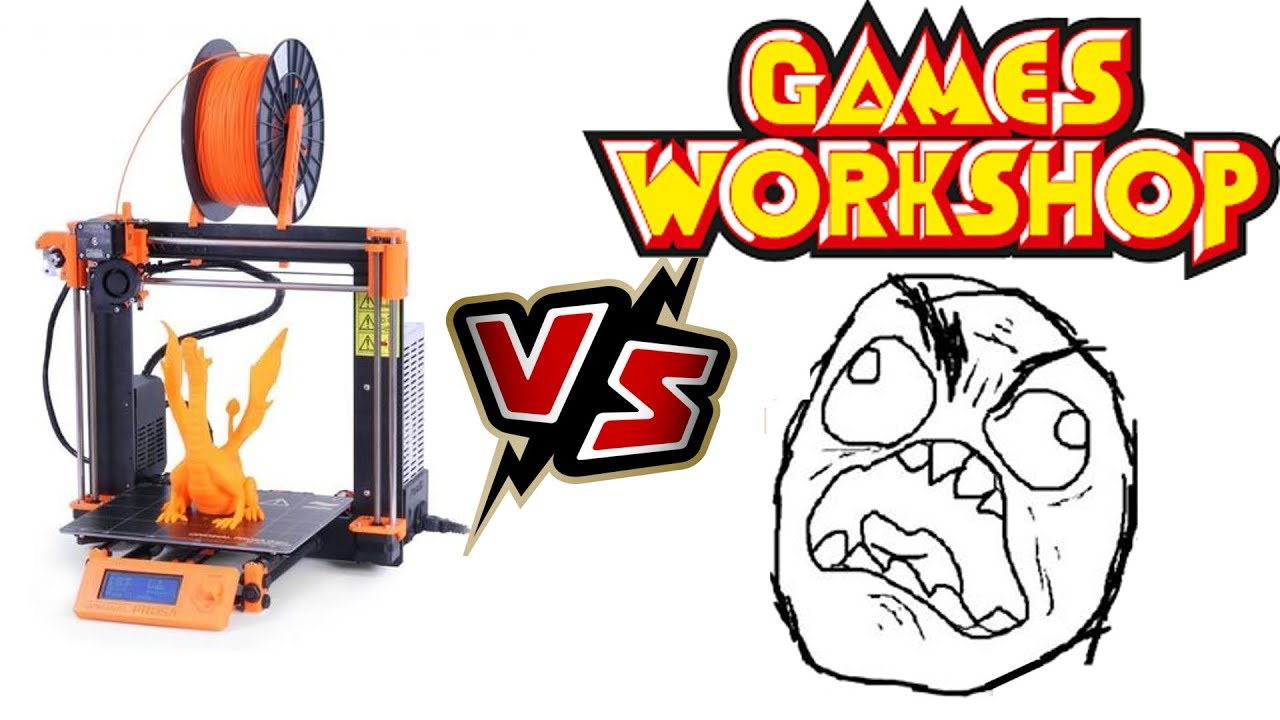 3D Printer and warhammer 40k