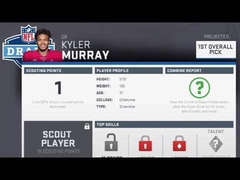 Madden Predicts the  NFL Draft