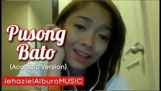 Pusong Bato (acoustic cover) | Jehaziel Alburo