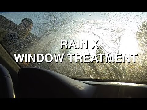 rain x window treatment youtube. Black Bedroom Furniture Sets. Home Design Ideas