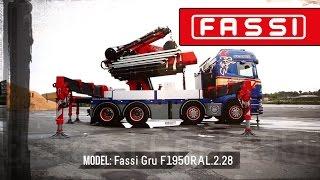 Fassi F1950RAL hydraulic crane