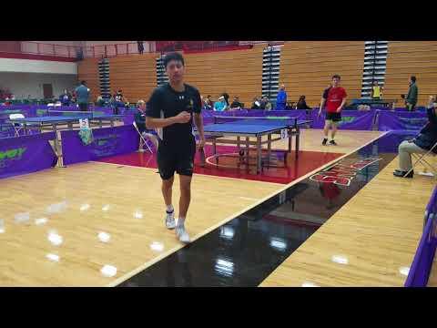 Yichi Zhang (2564) vs Massao Kohatsu (2590) - Open Singles Final