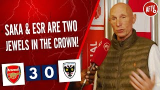 Arsenal 3-0 Wimbledon | Saka & ESR Are Two Jewels In The Crown! (Lee Judges)