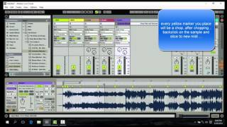 Ableton Live 9.6 New Simpler Mpc Style Drum Rack Preset Mapping Sampling Tutorial
