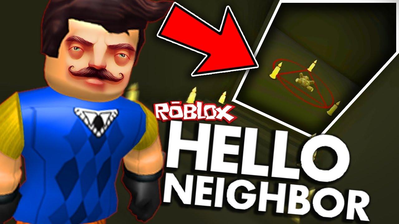 Hello Neighbor In Roblox Secret Basement Gameplay Doovi