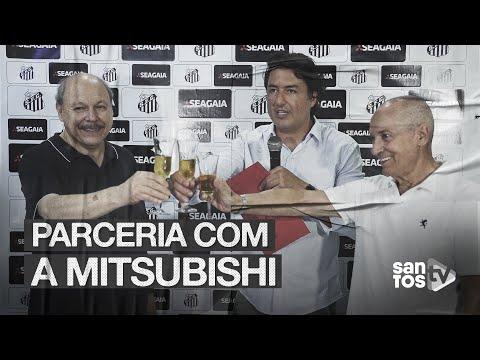 SANTOS FIRMA PARCERIA COM A MITSUBISHI