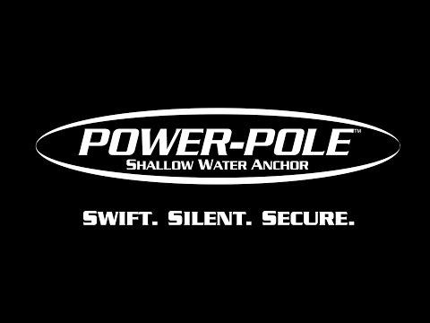 Power-Pole Micro Anchor Black Shallow Water Anchor - World