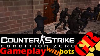 Counter-Strike: Condition Zero gameplay with Hard bots - Estate - Counter-Terrorist