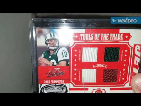 My Chad Pennington Collection Part 2