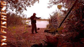 Рыбалка с ночевкой на реке Рось. YM fishing