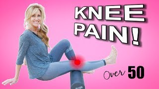 5 Minute KNEE Strengthening Routine To Fix Knee Pain In Mature Women | Fitness Over 50!