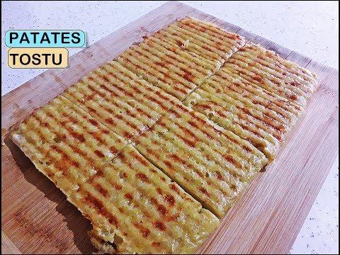 Pratik 3 Malzemeli PATATES TOSTU Tarifi - Kahvaltılık Nefis Lezzet