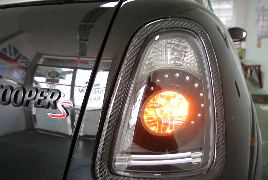 St Auto Mini Cooper R56 R59 Amp S Led Tail Light Smoke