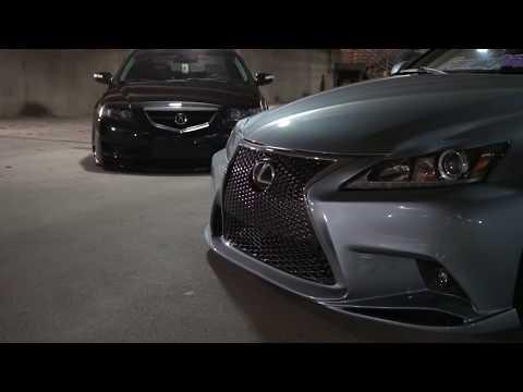 Acura TL & Lexus IS250 | Liberty VIP Car Club | Focus Films