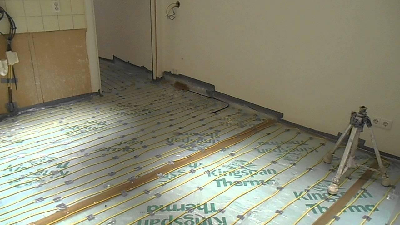 Elektrische vloerverwarming aanleggen doe je zo