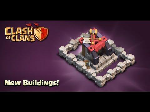 Clash Of Clans Update: 25 New Walls + Dark Barracks (TH7, TH8)