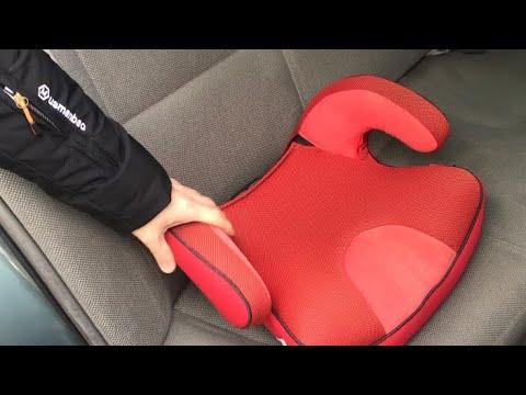 Автокресло как установить/ как закрепить бустер в машину