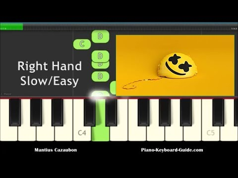 piano-notes-for-happier-by-marshmello-ft.-bastille---right-hand