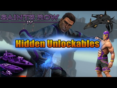 Saints Row 4 Hidden Unlockables