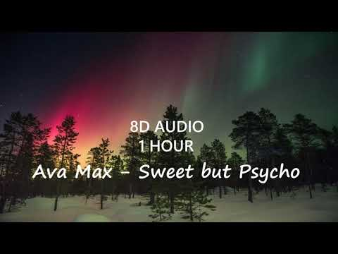 (1 Hour) Ava Max - Sweet but Psycho (8D Audio) 🎧