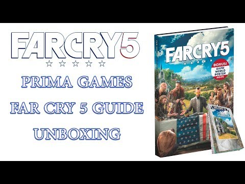 Far Cry 5 Prima Games Guide UNBOXING..