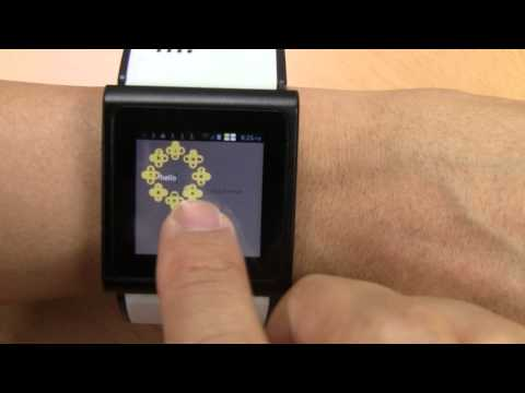 A Text Entry Technique for Wrist-worn Watches with Tiny Touchscreens