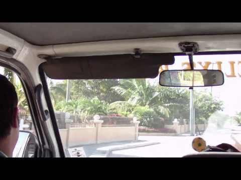 Taxi ride through Georgetown - Cayman Islands