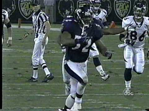 Ravens Chris McAlister 107 yard field goal return
