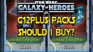 $65 For A Pack? - G12+ Offer - Star Wars: Galaxy Of Heroes - SWGOH