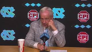 UNC Men's Basketball: Roy Williams Post Georgia Tech Press Conference