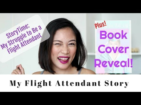 10k Subs! StoryTime: How I struggled to be a Flight Attendant and Book Cover Reveal!