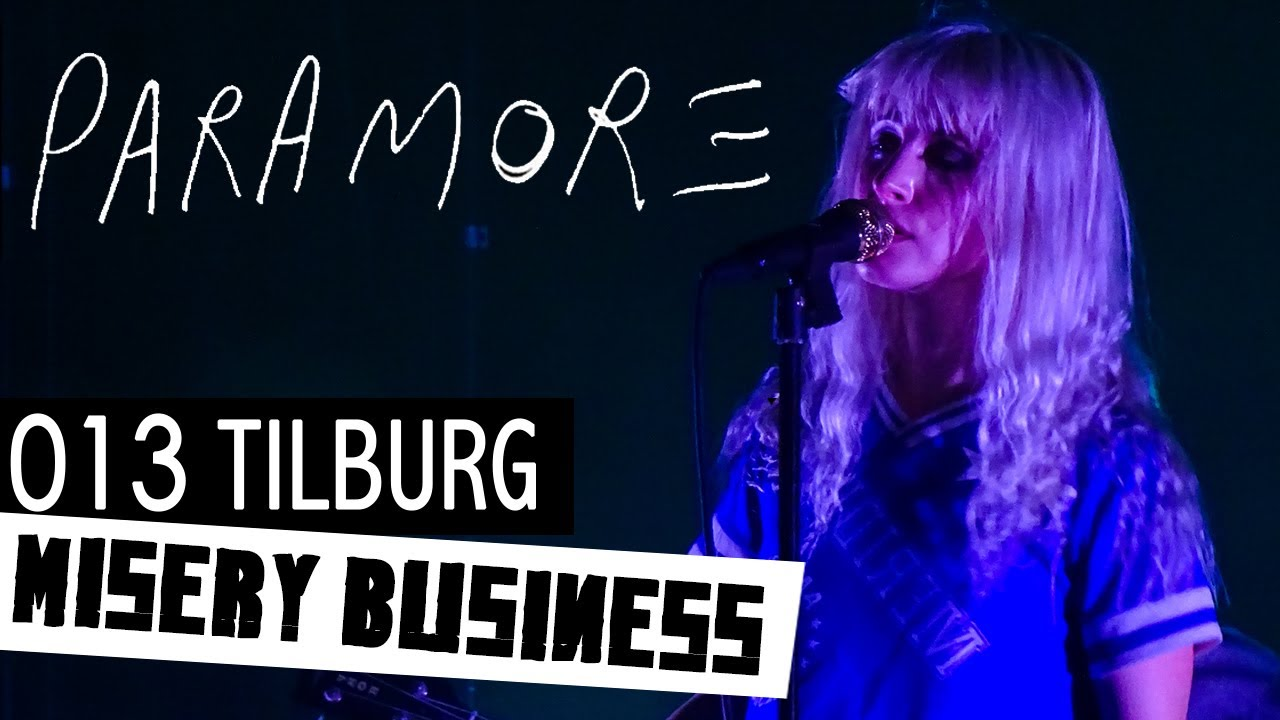 Paramore misery business live @013 Tilburg 2017 - YouTube Paramore 013