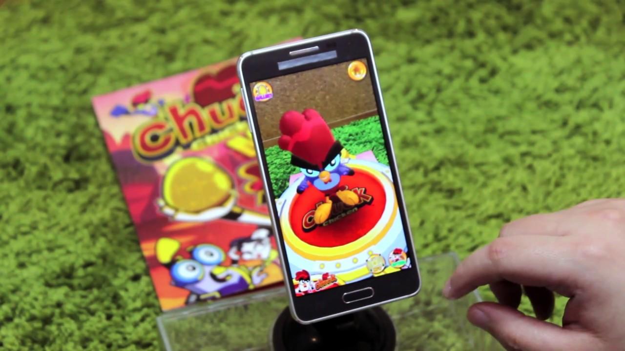 Chuck Chicken Comic Book - AR App demo