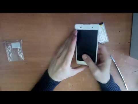 Sony Xperia E5 Замена аккумулятора