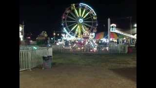 NorthWestern Montana Fair 2014-Expo Wheel Lights Show