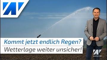 Kommt nun endlich Regen? Werden wir von Trockenheit und Dürre erlöst? Die aktuelle Wettervorhersage!