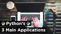 What Can You Do with Python? - The 3 Main Applications