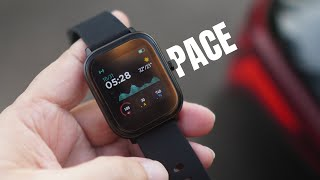 Pebble Pace Smartwatch - can monitor Blood Pressure and Oxygen Levels, up to 15 days battery life