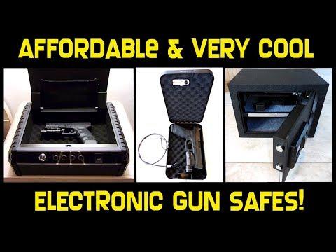 2 Very Cool Electronic Gun Safes & Compact Gun Case